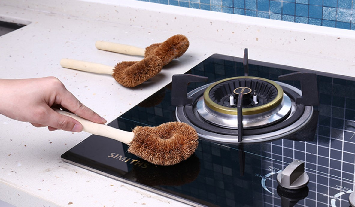 Natural Coconut Fiber Cleaning Brush