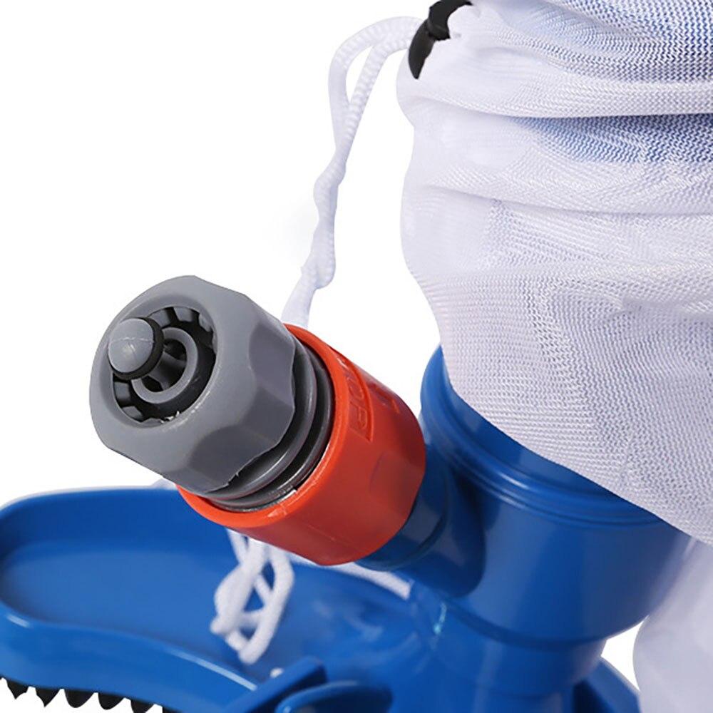 Portable Pool Vacuum Cleaning Brush Kit