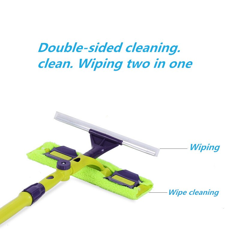 Glass Cleaning Double-Sided Tool
