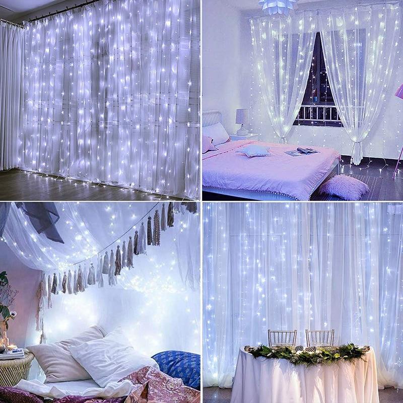 LED Curtain String Light for Wedding